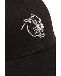 Forever 21 - Black Men Panther Graphic Baseball Cap for Men - Lyst