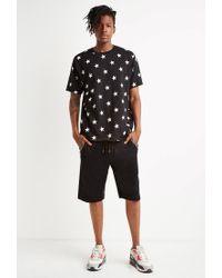 Forever 21 - Black Zip-pocket Sweatshorts for Men - Lyst