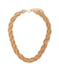 Forever 21 | Metallic Chain Layered Necklace | Lyst