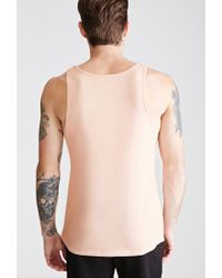 Forever 21 - Natural 's Flecked Knit Tank Top for Men - Lyst