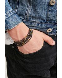 Forever 21 | Multicolor Men Ebb And Flow Beaded Bracelet for Men | Lyst
