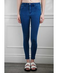 Forever 21 - Blue The Fairfax High Rise Jean - Lyst