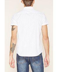 Forever 21   Blue Paisley Print Shirt for Men   Lyst