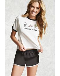 Forever 21 | Multicolor Thinking Of You Pj Set | Lyst