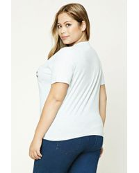 Forever 21 | Multicolor Plus Size Locals Only Tee | Lyst