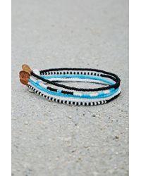 Forever 21 - Metallic Bead Relief Beaded Bracelet Set - Lyst