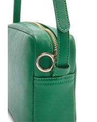 Forever 21 - Green Faux Leather Crossbody Bag - Lyst