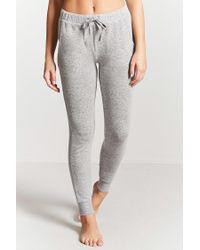 Forever 21 - Gray Marled Pyjama Bottoms - Lyst