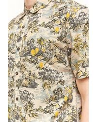 Forever 21 - Pink Dstruct Island Print Shirt for Men - Lyst