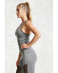 Forever 21 - Gray Active Marled Tank Top - Lyst