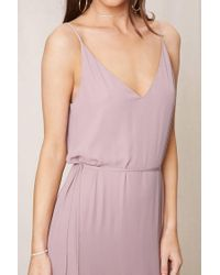 Forever 21 - Purple Pretty By Rory Strappy Dress - Lyst