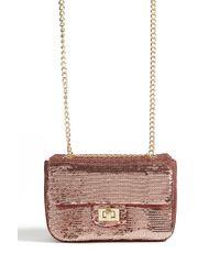 Forever 21 - Pink Sequin Crossbody Bag - Lyst