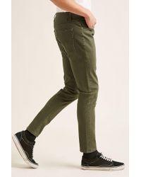 Forever 21 - Green 's Five-pocket Skinny Jeans for Men - Lyst