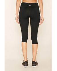 Forever 21 - Black Active Colorblock Leggings - Lyst