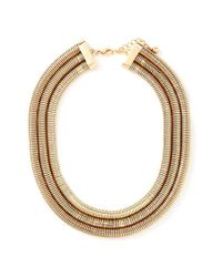 Forever 21 | Metallic Snake Chain Collar Necklace | Lyst