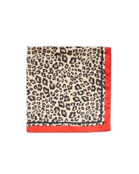 Forever 21 - Brown Leopard Print Scarf - Lyst