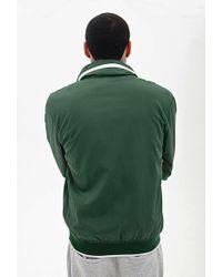 Forever 21 - Green Varsity-stripe Baseball Jacket for Men - Lyst