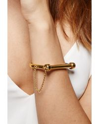 Forever 21 - Metallic Amber Sceats Lock Bangle - Lyst