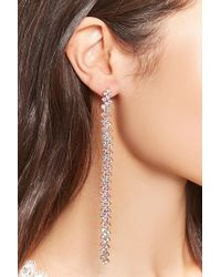 Forever 21 - Metallic Iridescent Drop Earrings - Lyst