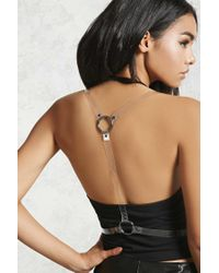 Forever 21 - Natural Jelly Harness Belt - Lyst