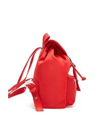 Forever 21 - Red Drawstring Flap Top Backpack - Lyst