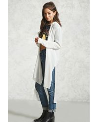 Forever 21 - Multicolor Crinkled High-low Tunic - Lyst