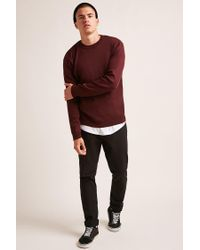 Forever 21 - Multicolor 's Crew Neck Jumper Sweater for Men - Lyst