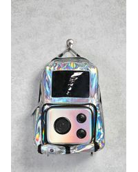 Forever 21 - Metallic Jammypack Festival Survival Backpack - Lyst