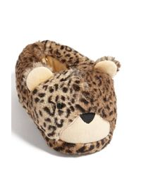 Forever 21 - Brown Cheetah Indoor Slippers - Lyst