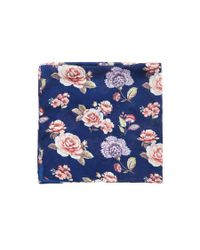 Forever 21 - Blue Floral Square Scarf - Lyst