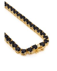 Forever 21 - Metallic King Ice Gold Cz Necklace - Lyst