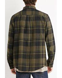 Forever 21 | Gray Tartan Plaid Flannel for Men | Lyst