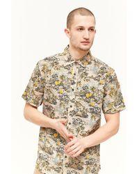 Forever 21 - Pink Dstruct Island Print Shirt for Men - Lyst