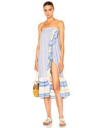 Lemlem - Blue Mwali Convertible Dress - Lyst