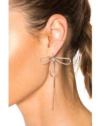 Beaufille - Metallic Orchid Single Earring - Lyst