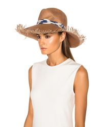 Maison Michel - Natural Ginger Hat - Lyst