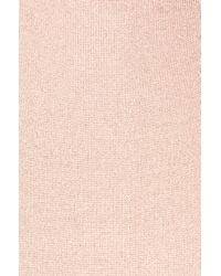 Cushnie et Ochs - Pink For Fwrd Knit Pencil Dress With Crisscross Straps - Lyst