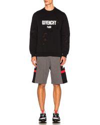 Givenchy - Gray Bermuda Shorts for Men - Lyst