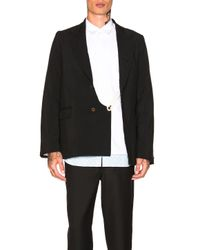 Comme des Garçons - Black Tropical Garment Treated Jacket for Men - Lyst