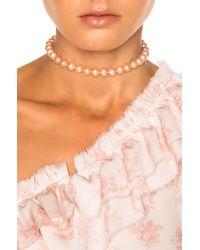 Magda Butrym - Pink Am 2 Choker - Lyst