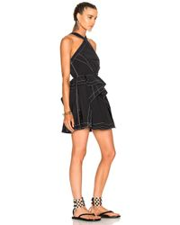 Alexander Wang - Black Sleeveless Dress In Nocturnal - Lyst