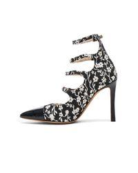 Altuzarra | Black Isabella Multi Strap Mary Jane Heels | Lyst