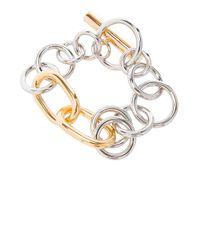 Alexander Wang - Metallic Toggle Bracelet - Lyst