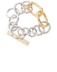 Alexander Wang - Metallic Toggle Bracelet - Lyst