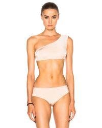 Cali Dreaming | Natural Sombrero Bikini Top | Lyst
