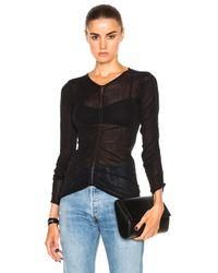 Helmut Lang | Black Long Sleeve Shirt | Lyst