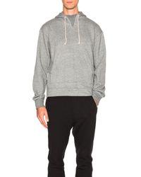 John Elliott | Gray Kake Mock Neck Pullover for Men | Lyst