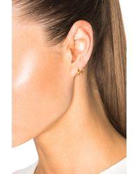 Maria Black - Metallic 14 Karat Tusk Twirl Earrings - Lyst