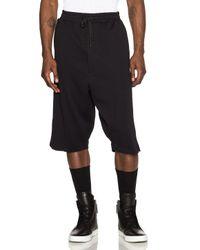 Public School - Black Cotton Shorts - Lyst