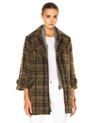 Veronica Beard   Gray Mystic Coat With Grey Dickey   Lyst